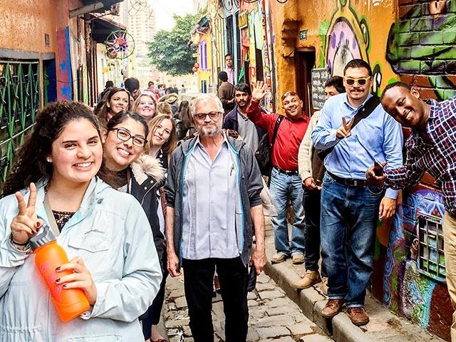 Kroc School Students learning in Bogotá, Colombia